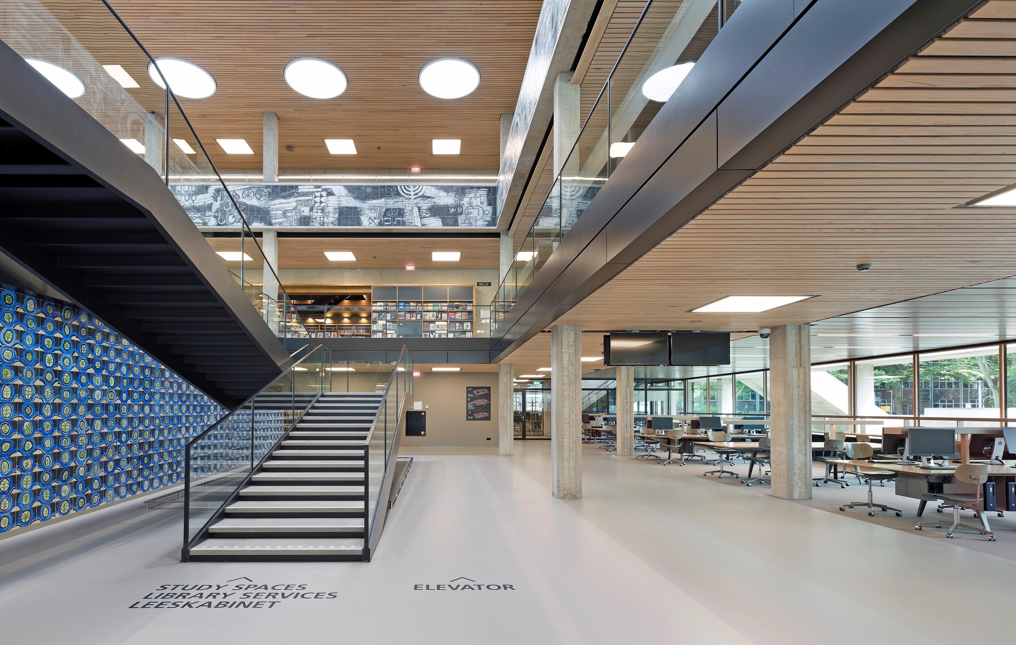 Renovatie Erasmus Universiteit Rotterdam. Foto Roos Aldershoff