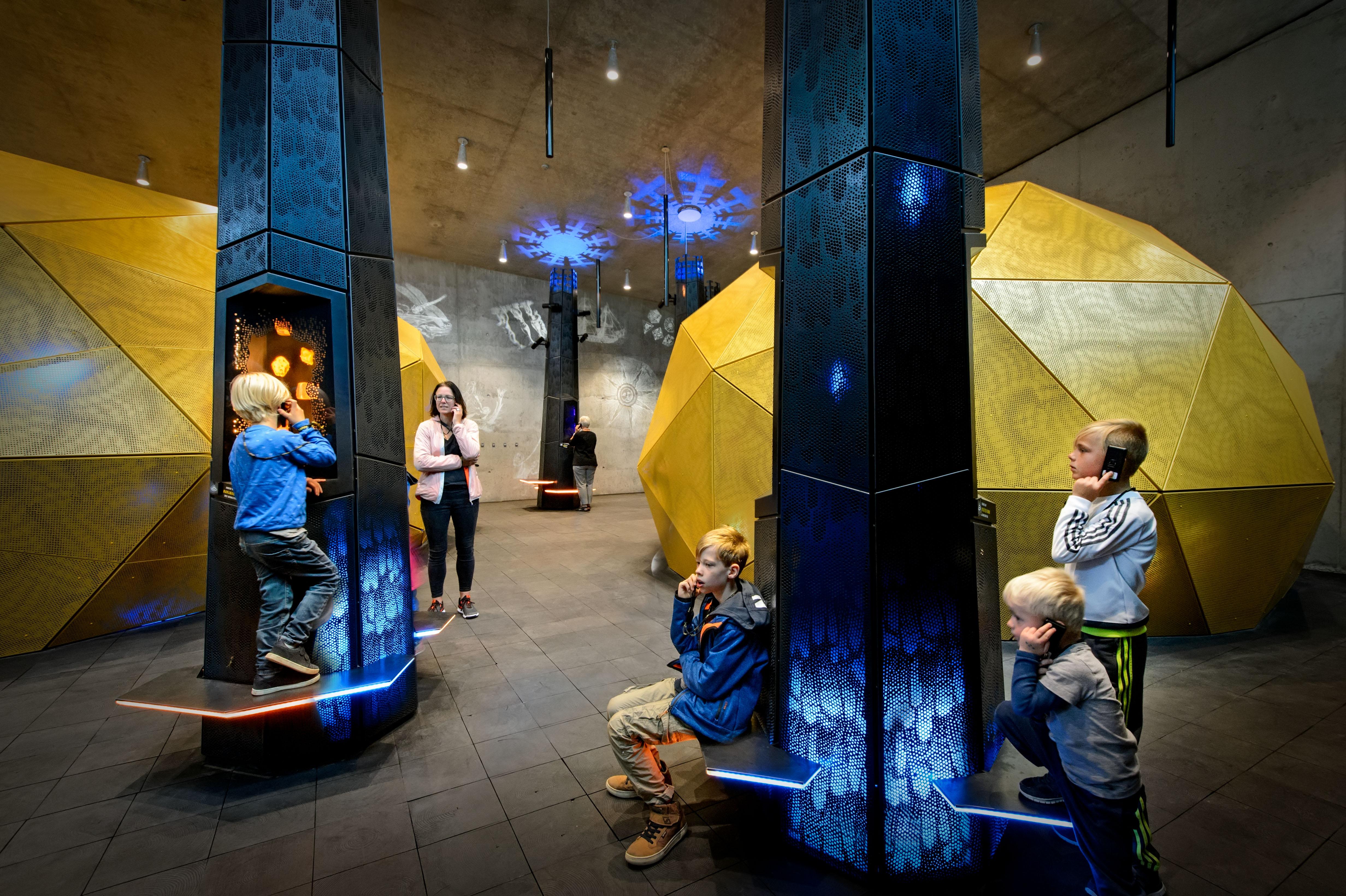 Museum Tirpitz Denemarken BIG en Tinker Imagineers. Gold of the Westcoast. Foto Mike Bink