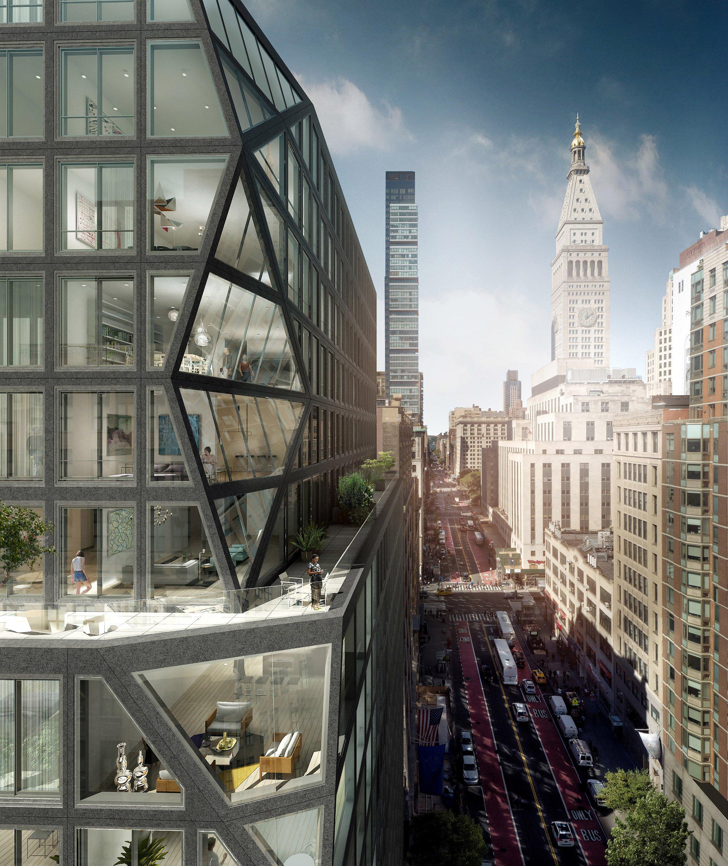 Belangrijke Gebouwen New York.Video Rem Koolhaas Over Zijn Woontoren In New York De Architect