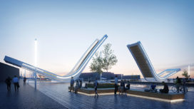 Nederlands/Lets brugontwerp wint ontwerpwedstrijd