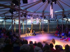 Bamboe theater in Noordwijk door Studio Akkerhuis
