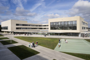 ARC17 Architectuur: Scholencampus Panhoven Peer – Bekkering Adams architecten
