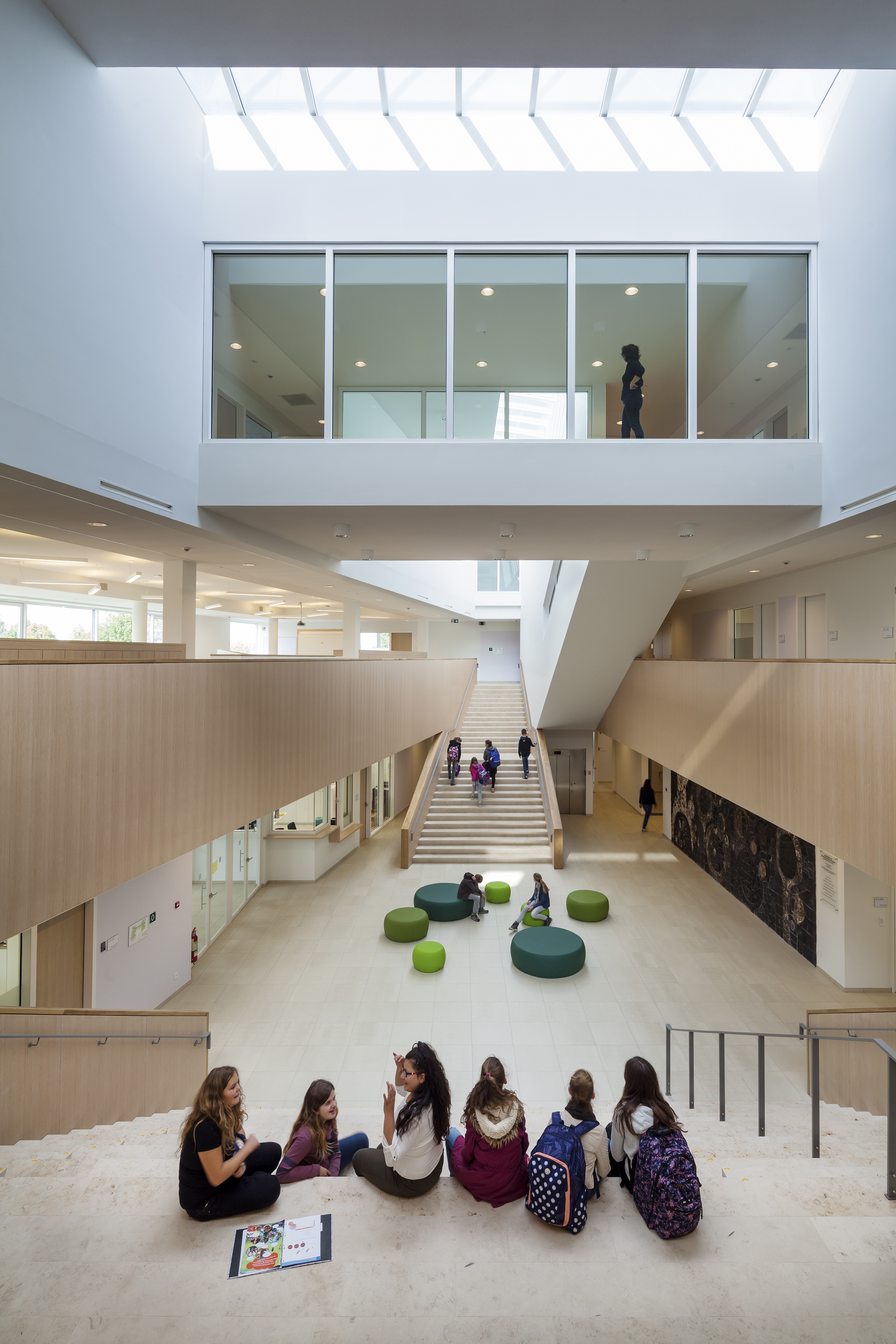 <p>Centrale hal Agnentencollege &#8211; foto: Scagliola Brakkee</p>