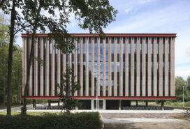 ARC17: Onderwijsgebouw M, Universiteit Antwerpen (UA) – META en Storimans Wijffels architecten ism TRACTEBEL