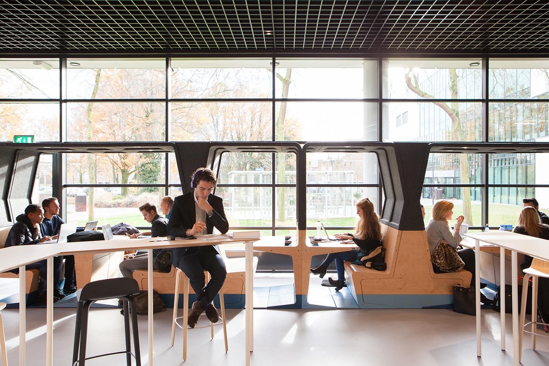 <p>HUBB door Mecanoo. Foto: Mecanoo architecten</p>