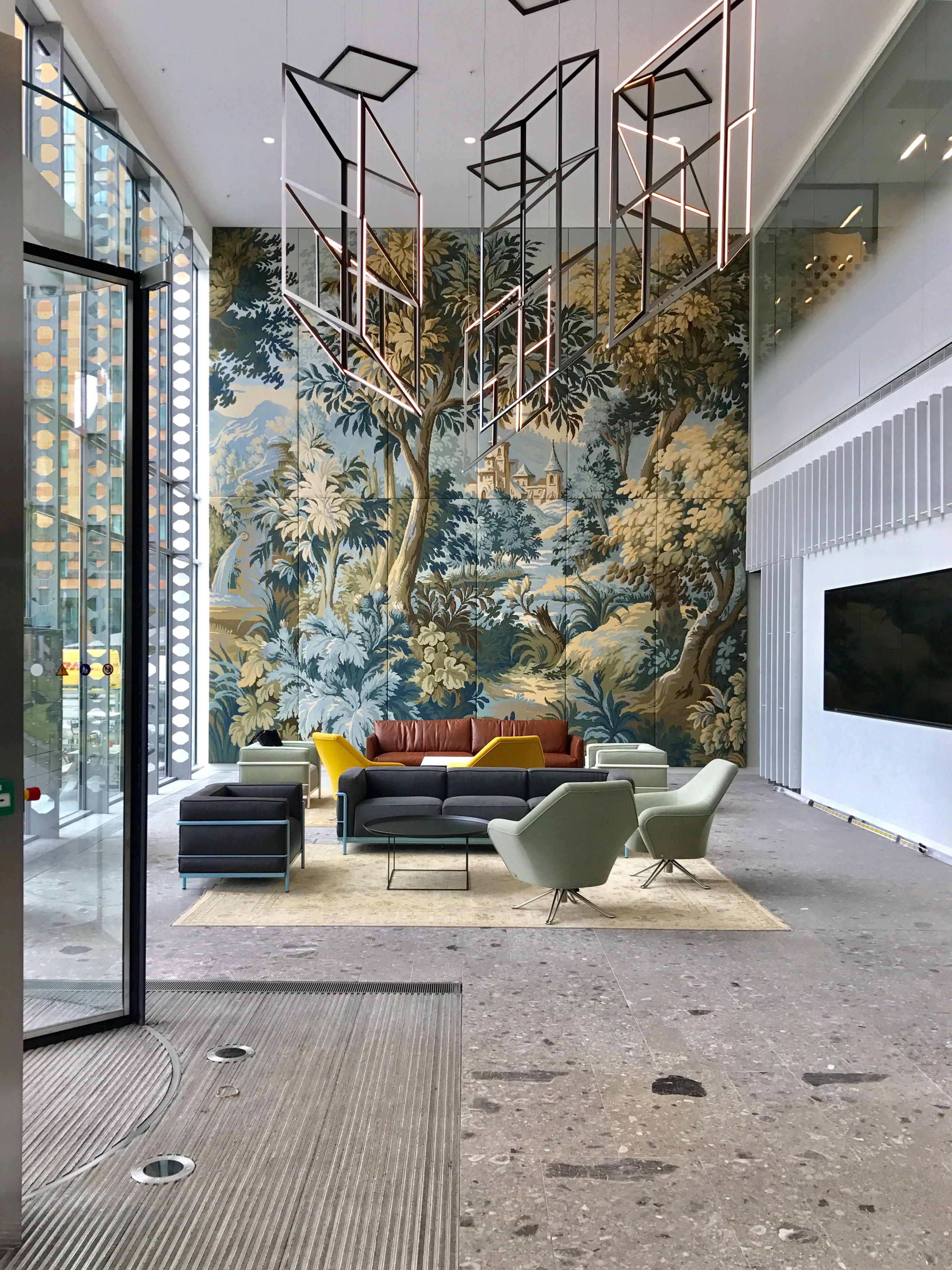 <p>ITO entreehal transformatie, lounge – Graziosi Progetti </p>