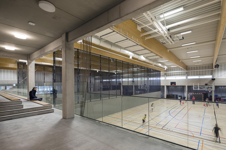<p>Interieur Sportcomplex &#8211; foto: Scagliola Brakkee</p>