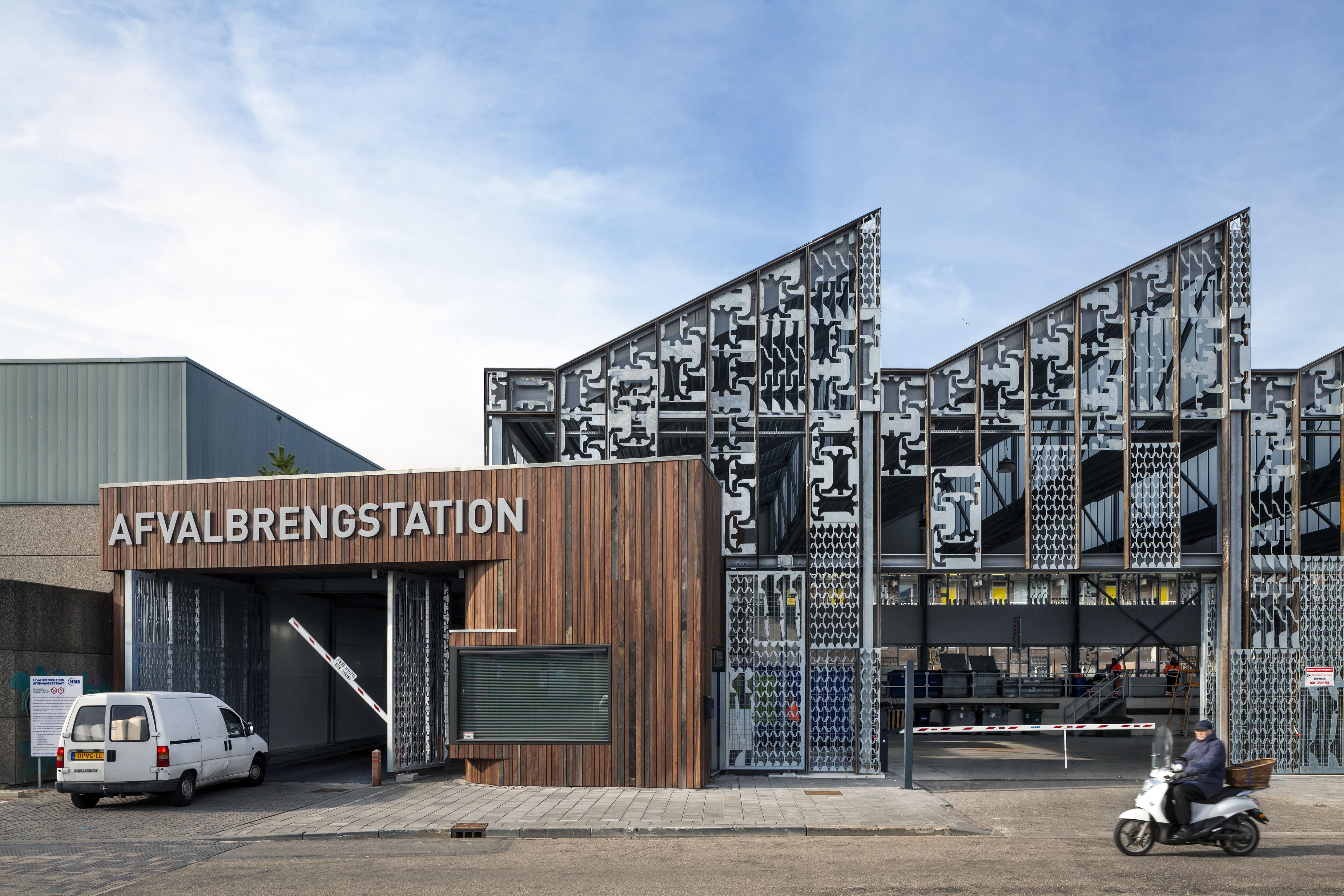 <p>Afvalbrengstation Den Haag  foto: Scagliola Brakkee</p>