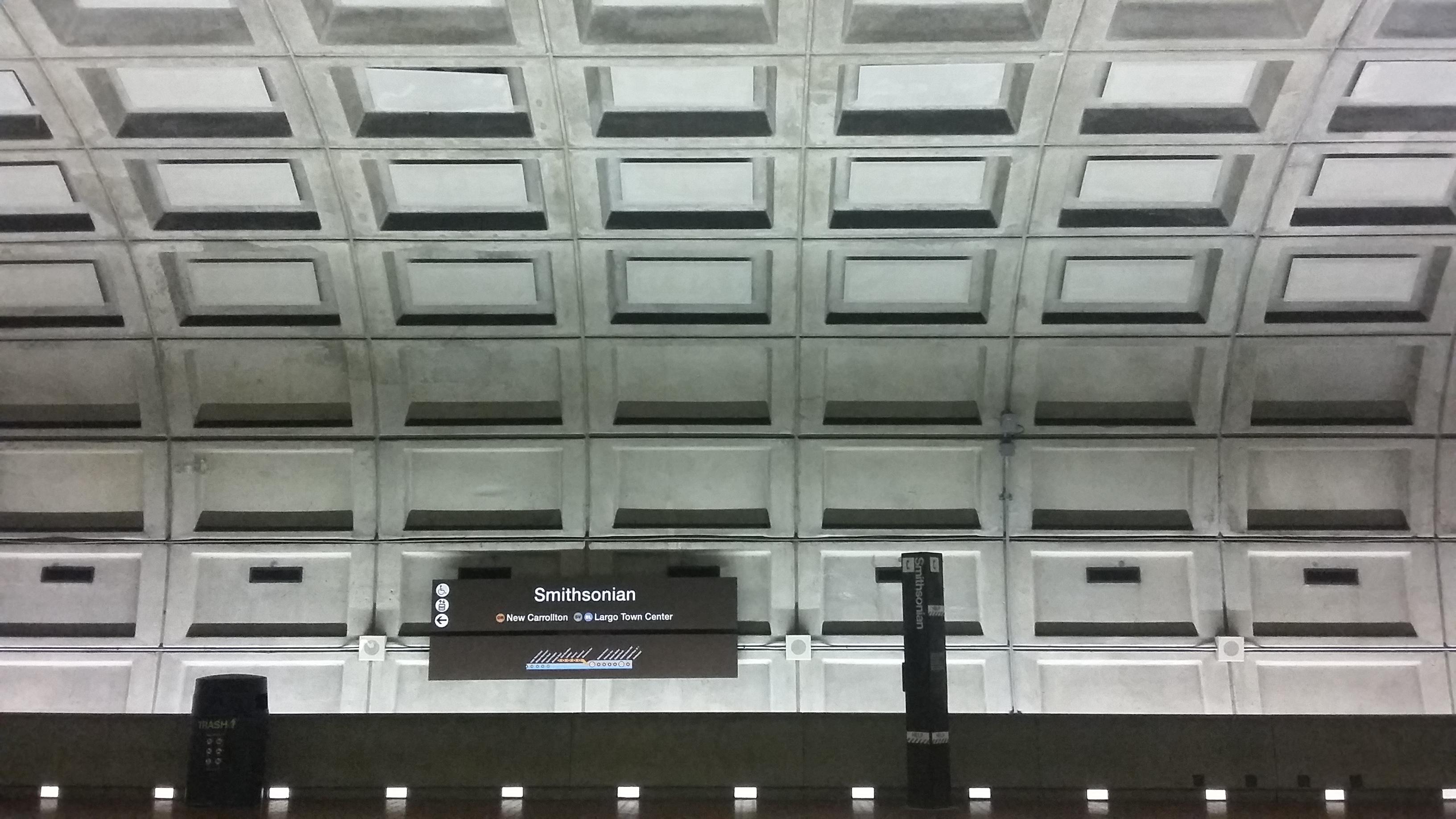 Zomerfoto Armand Hermans Metrostation Washington