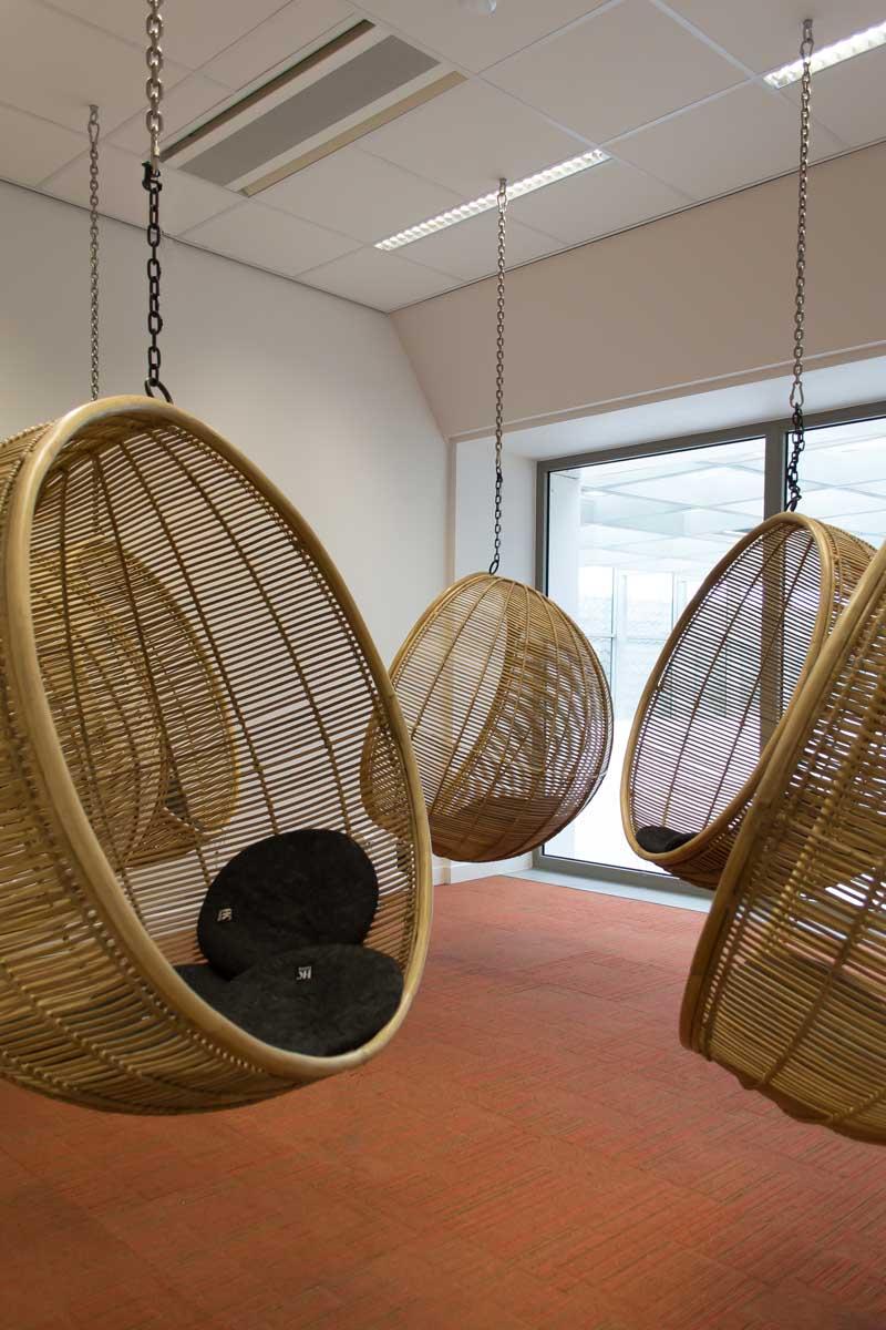 <p>Hangend vergaderen – foto Blossom Architecture</p>