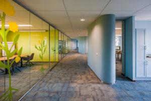 Duurzaam interieur Weleda Benelux – Bureau Krooner