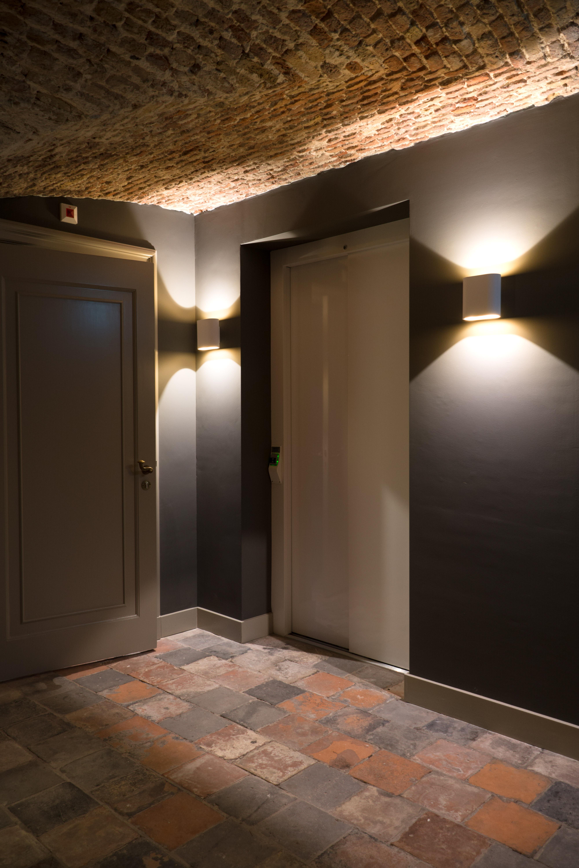 <p>Kelder: nieuwe lift   foto: Laurijs Weyts</p>