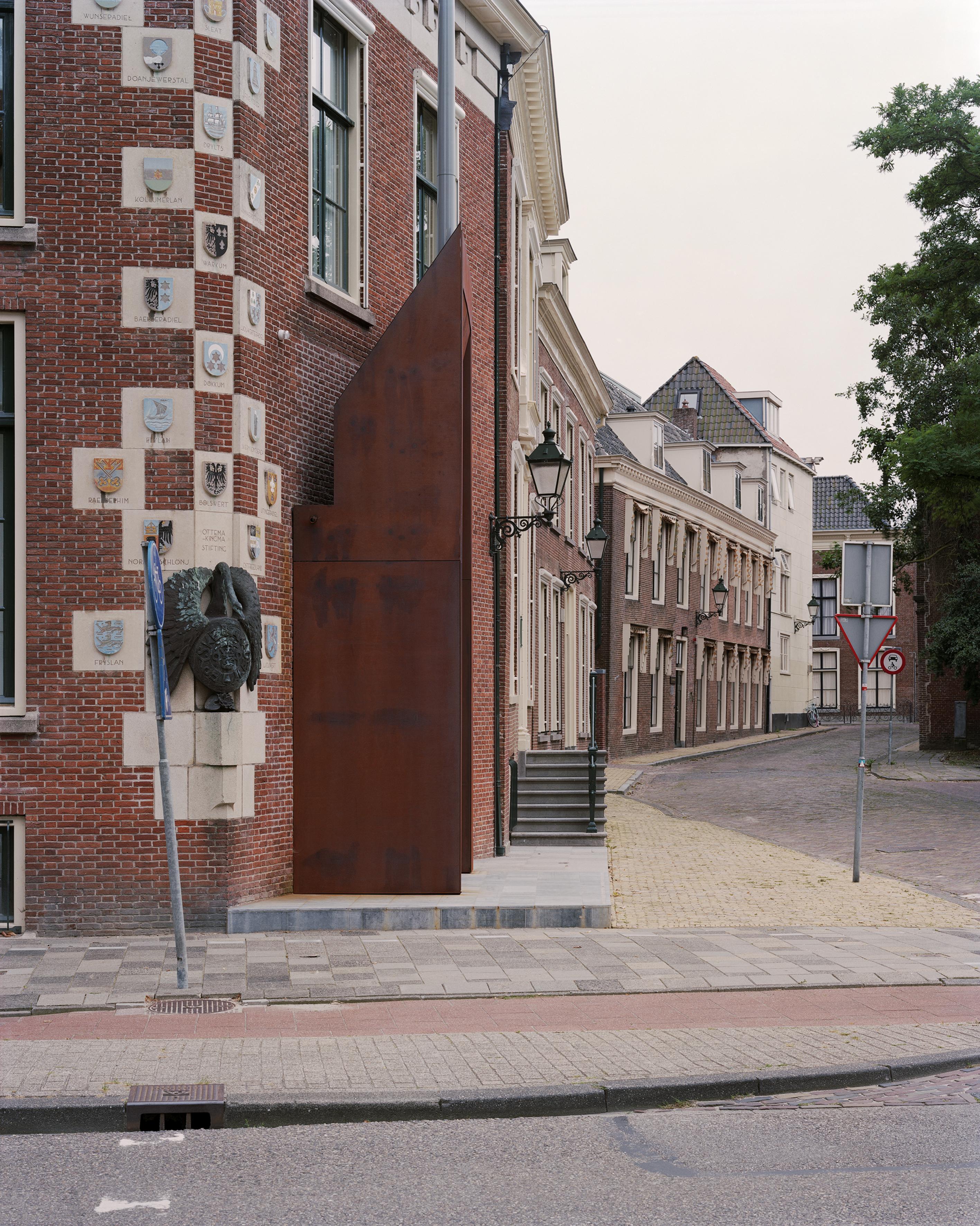 <p>Fryske Akademy, Doelestraat nieuwe entree, Foto Kim Zwarts</p>