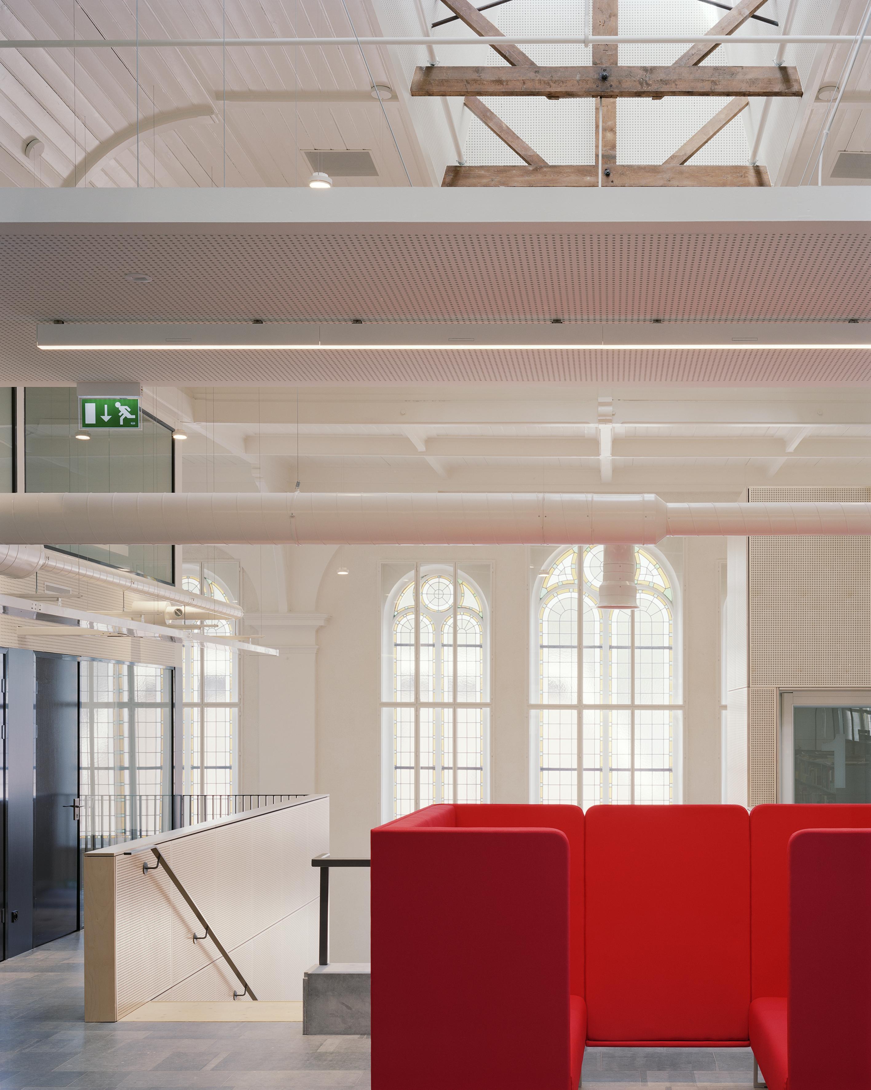 <p>Fryske Akademy, Noorderkerk interieur, Foto Kim Zwarts</p>