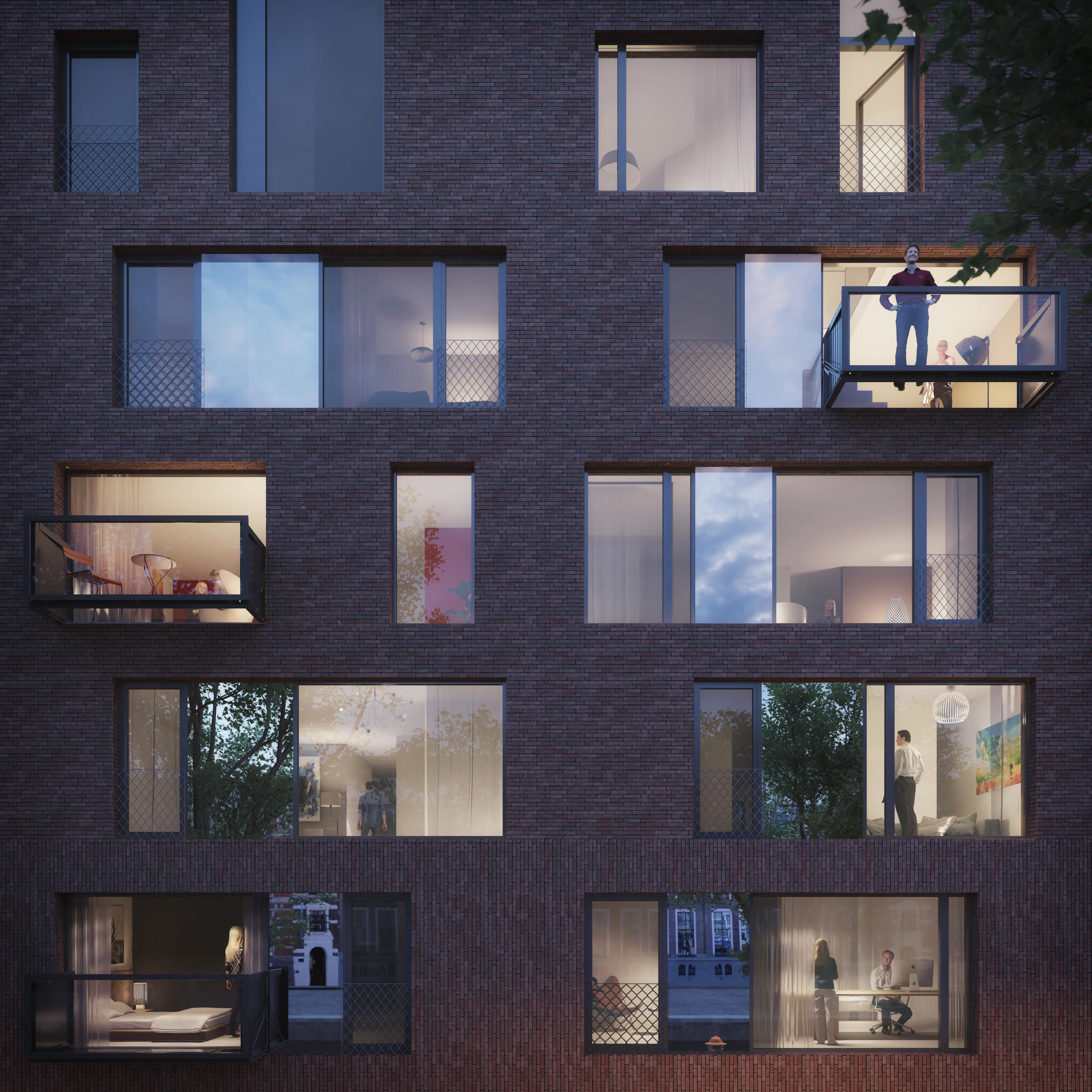 <p>Bloomframe® window gevel</p>
