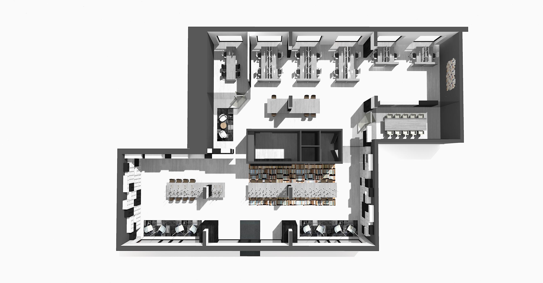 <p>ILGE My Bookstore, My Flexspace floorplan</p>