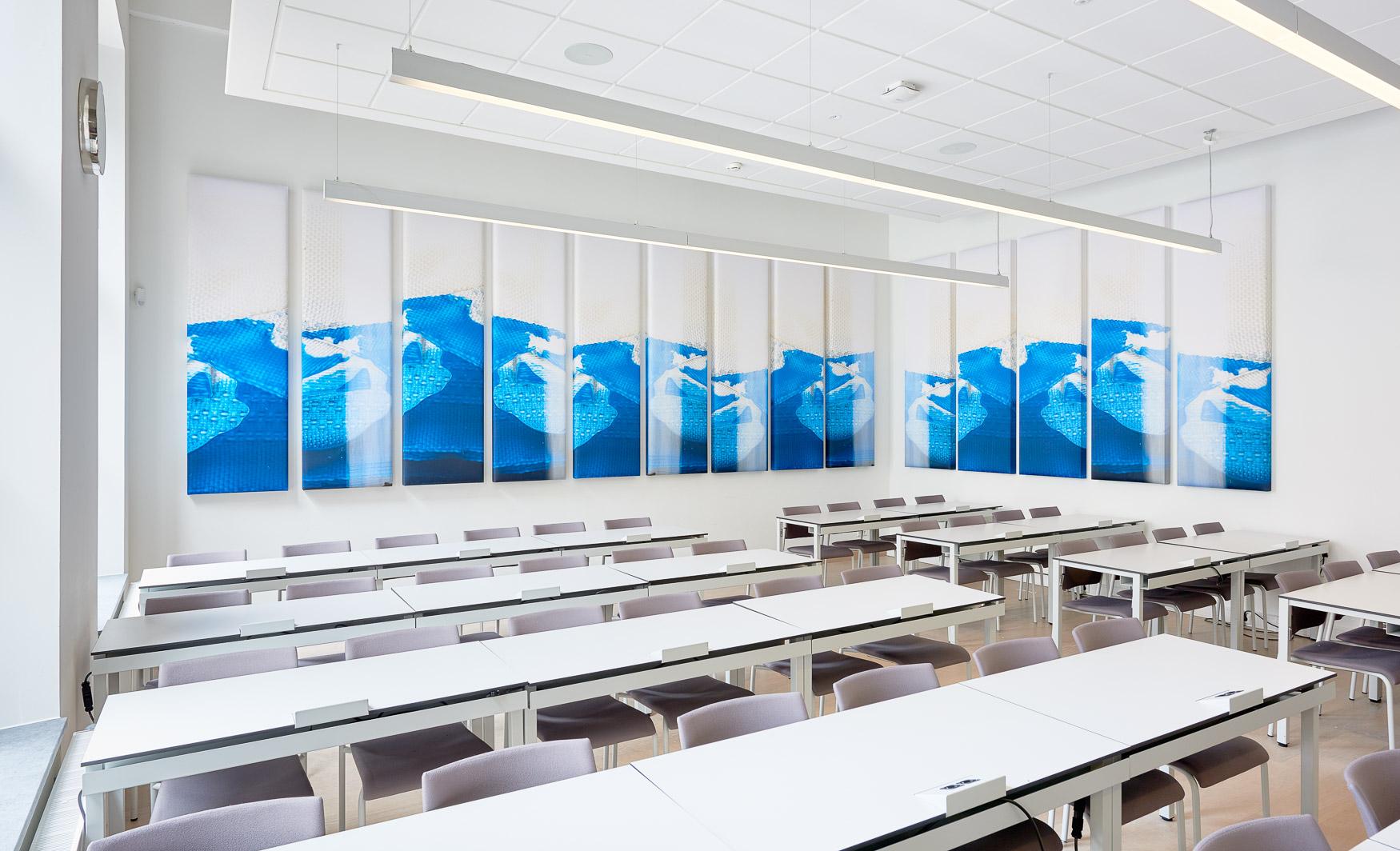 <p>Panelen Blue Corner / foto Maarten Noordijk</p>