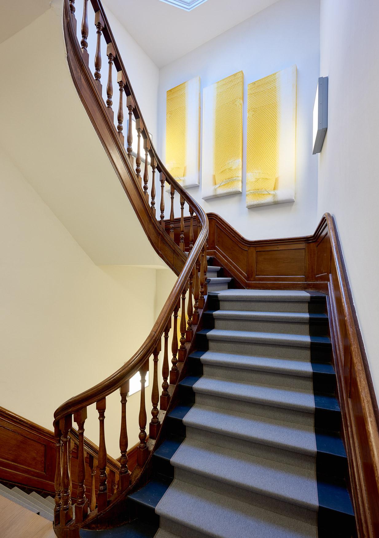 <p>Panelen Yellow Stairs / foto Maarten Noordijk</p>