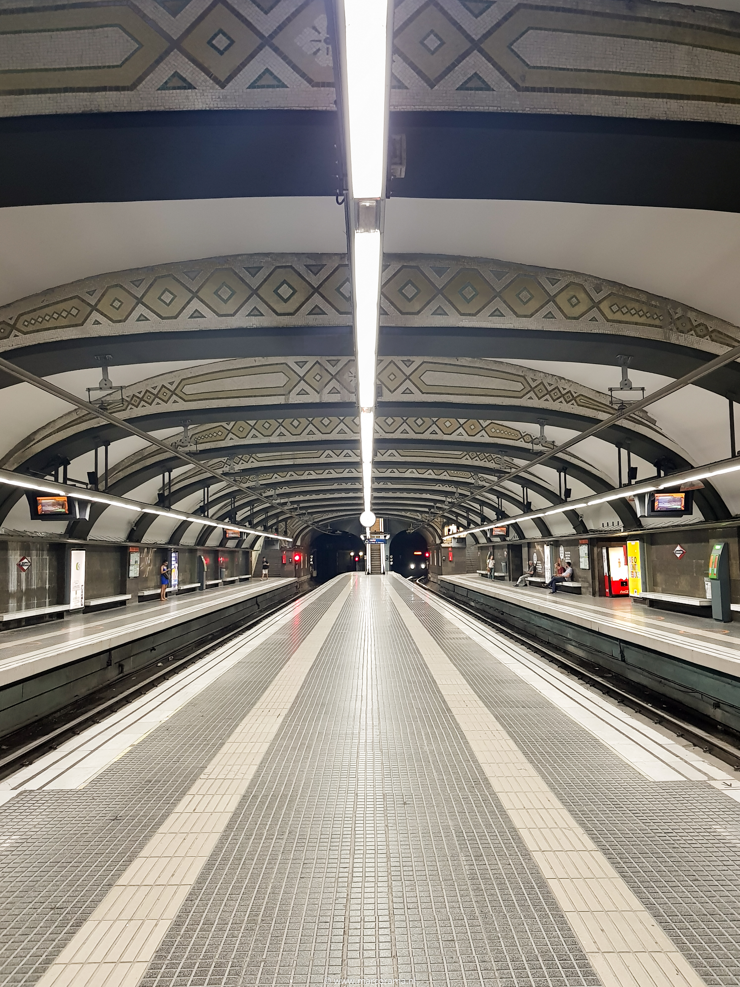 Marco de Groot Metrostation in Barcelona