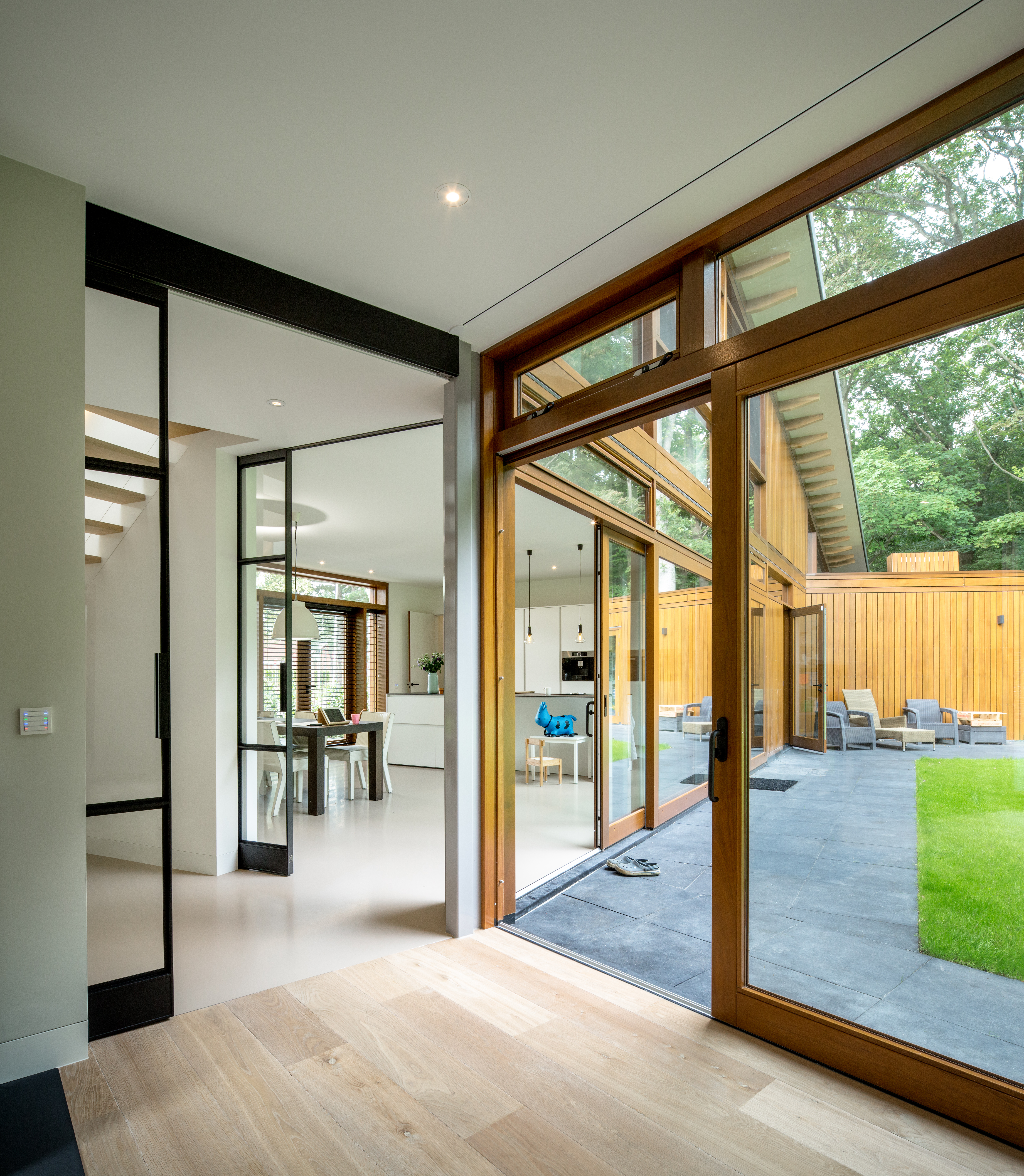 <p>Moke Architecten Gianni Cito Woonhuis Bochem woonkamer-keuken HR</p>