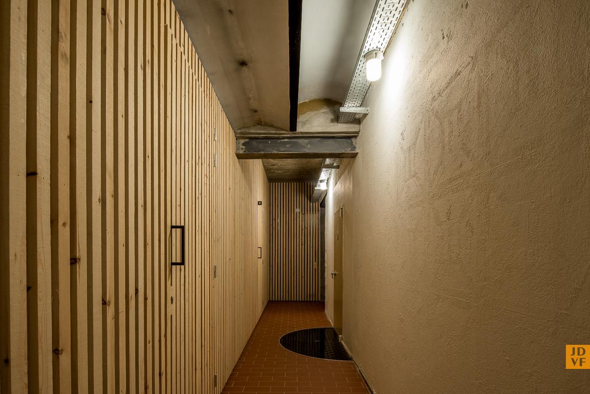 <p>Hal souterrain. Foto: Jan de Vries Fotograaf</p>