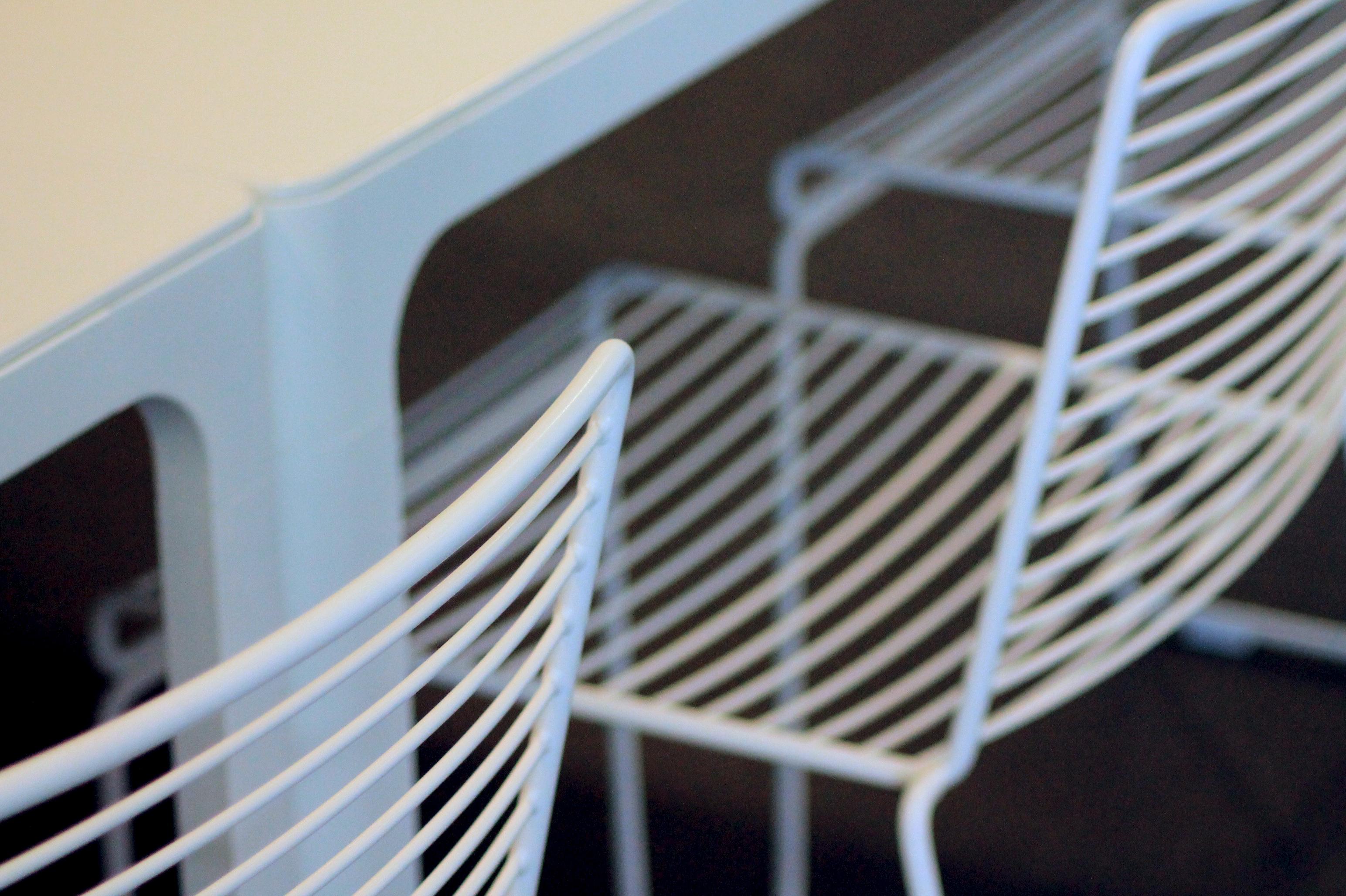 <p>Detailfoto stoelen</p>