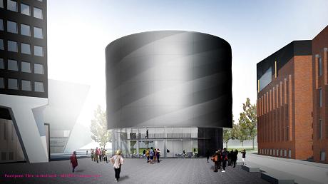 This is Holland Paviljoen door MOPET Architecten