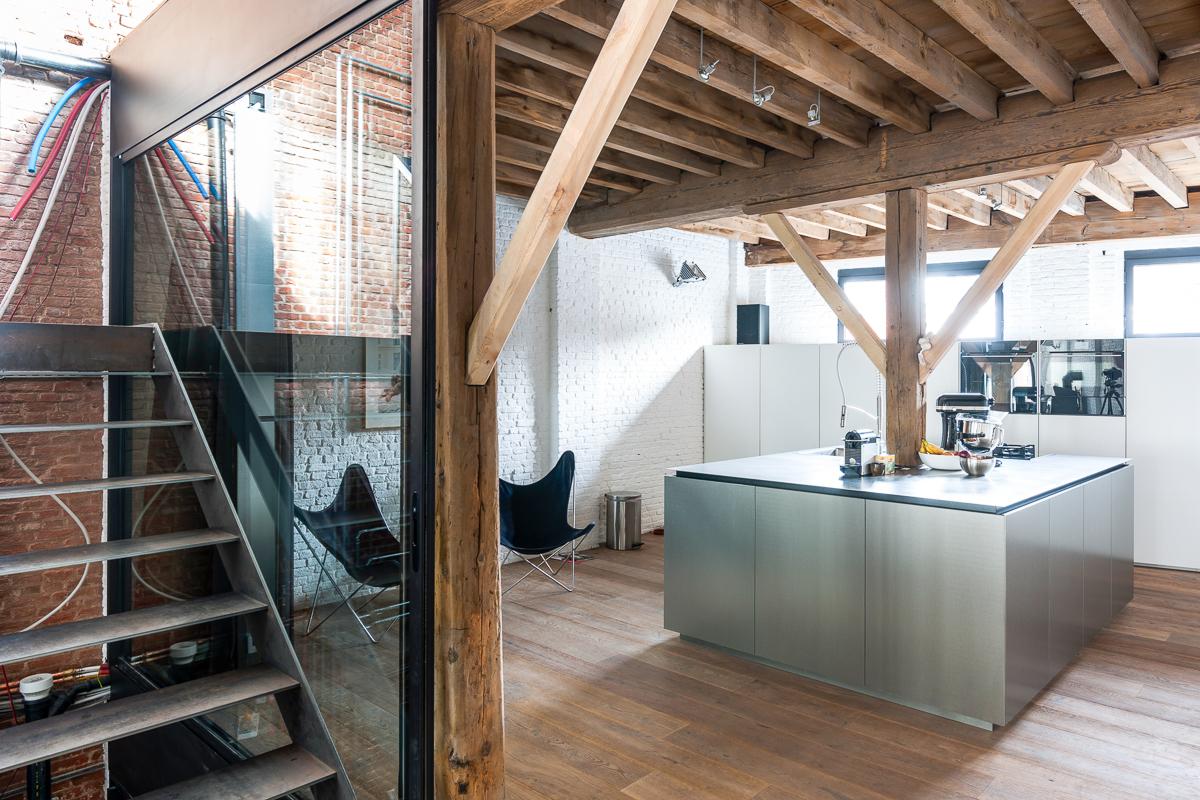 <p>verdieping 2: leefruimte/keuken</p>
