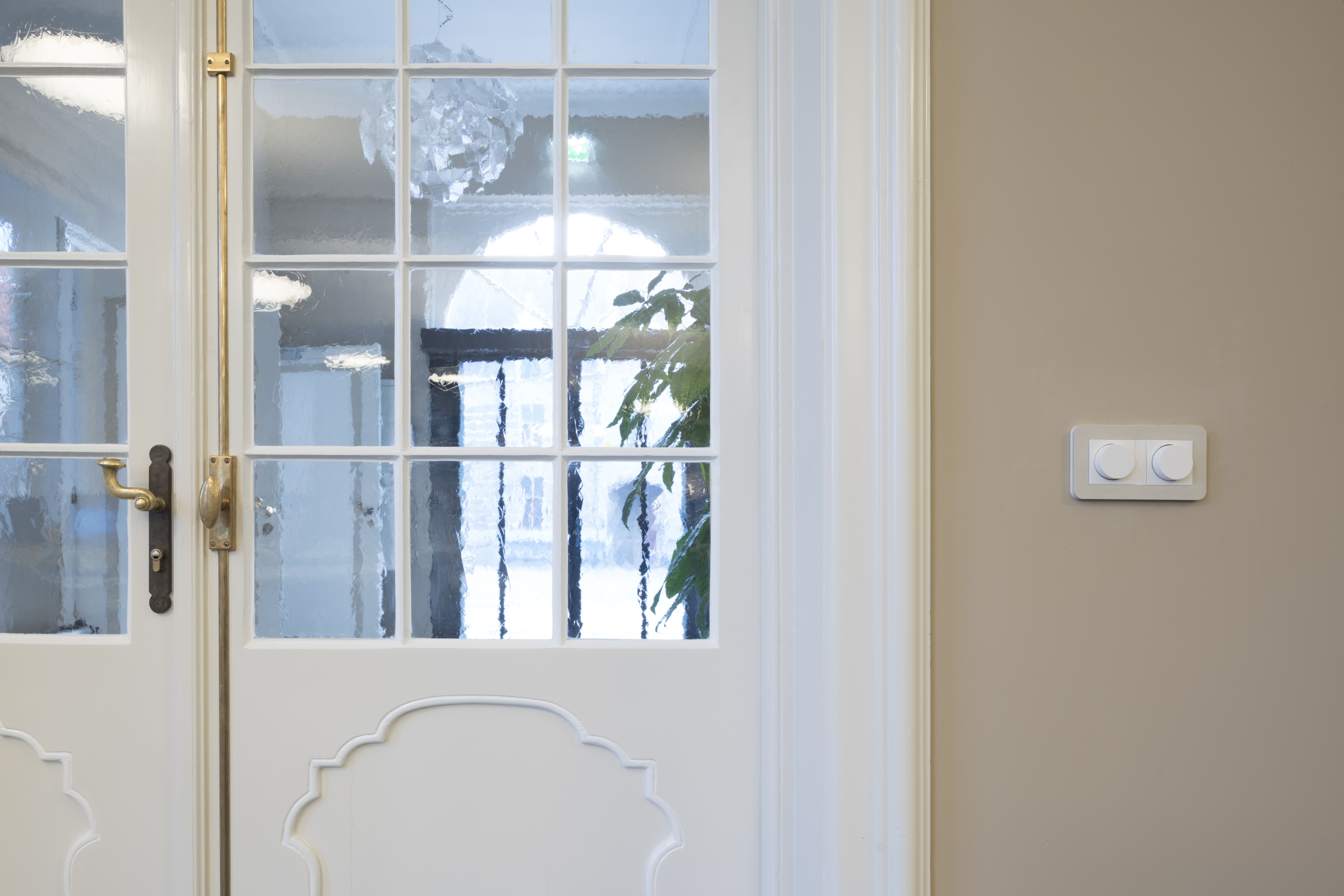 <p>Leeszaal: klassieke deur & moderne techniek   foto: Ronald Tilleman</p>