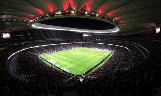 Atletico Madrid Cruz y Ortiz