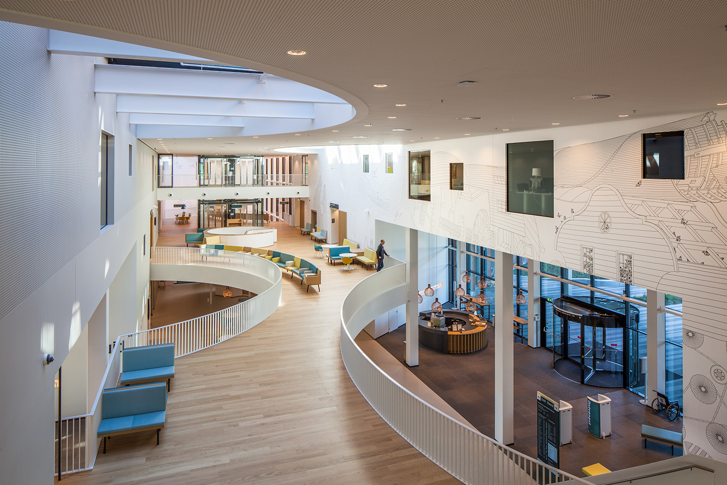 Arc17 interieur zaans medisch centrum mecanoo for Interieur architecten amsterdam