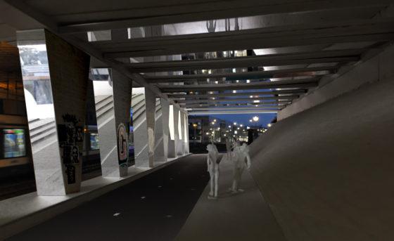 HOH Onderdoorgang A10 Sloterdijk Amsterdam