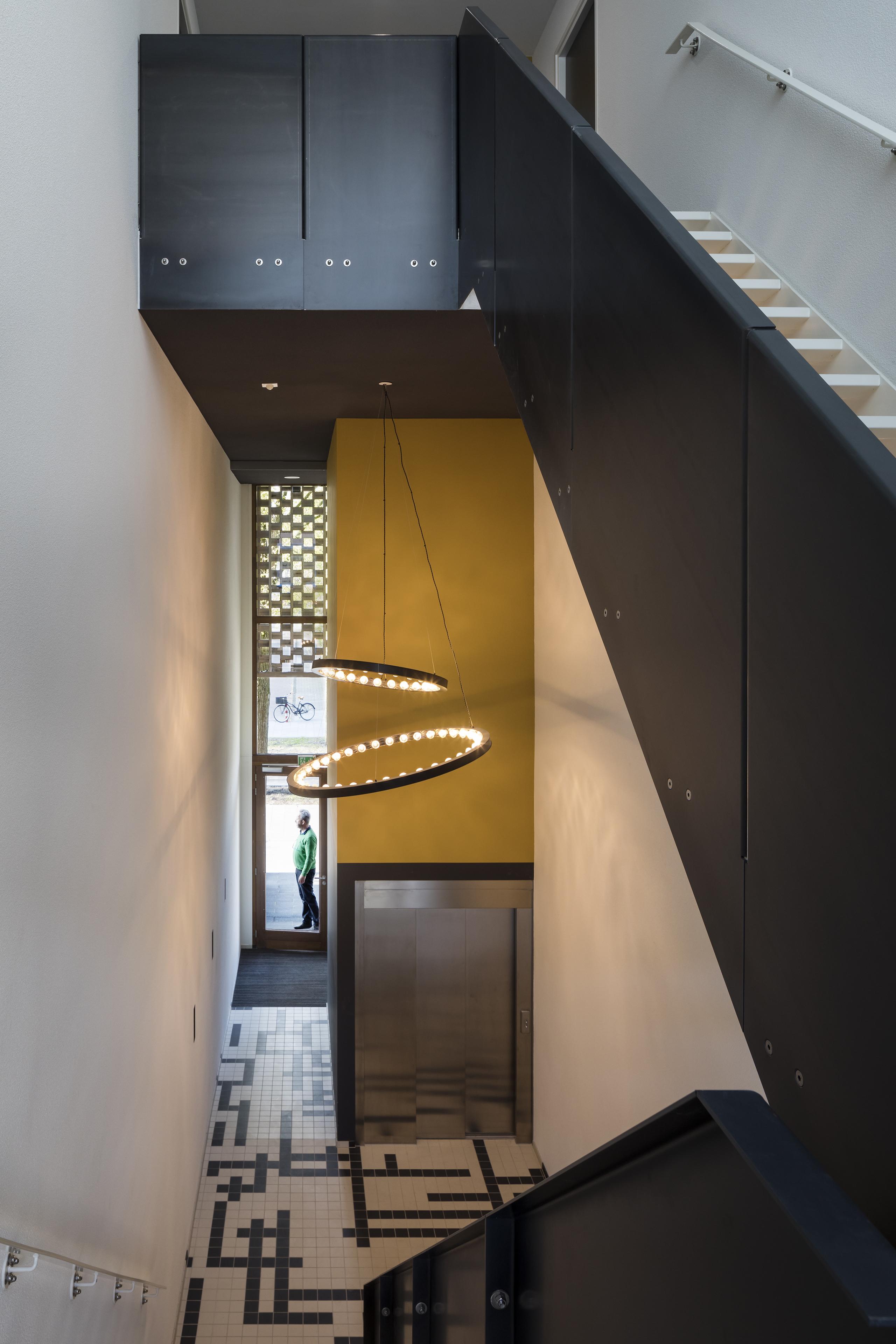 <p>2017, Collectief Particulier Opdrachtgeverschap, appartementen complex Amstelwijck, BLAUW architecten</p>
