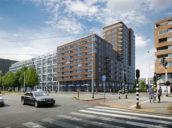 KOW en Studioninedots ontwerpen middenkavel 'Hof van Spartaan' in Amsterdam