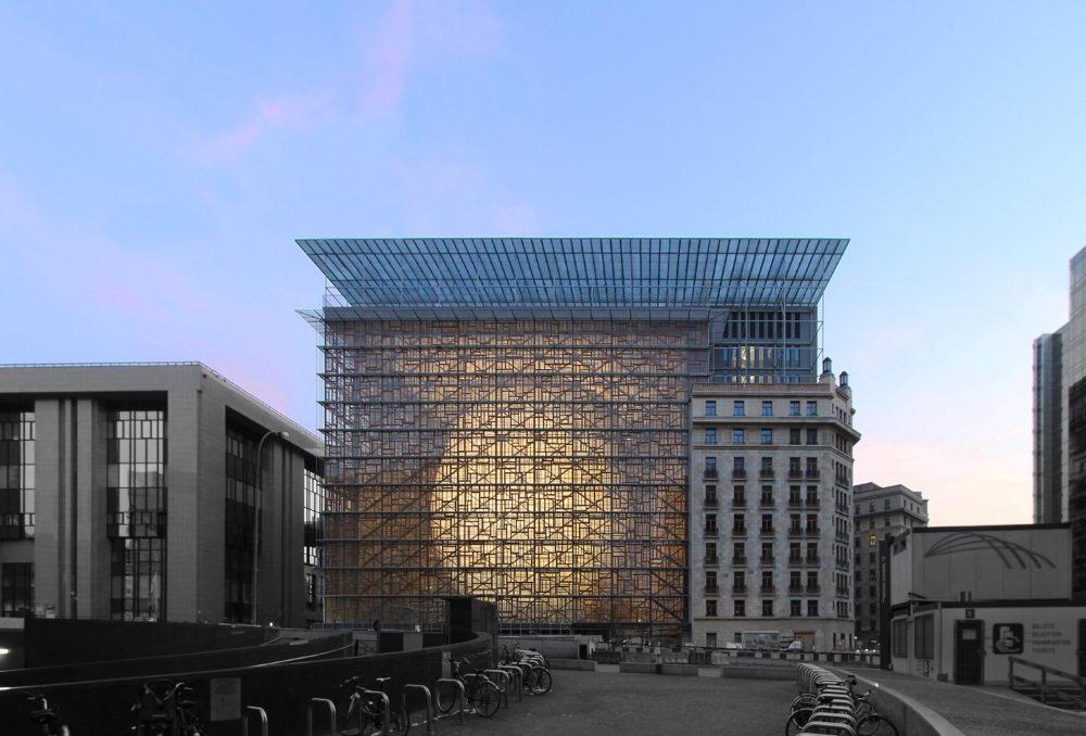 Politieke en culturele ruimte van Europa door Philippe Samyn and partners