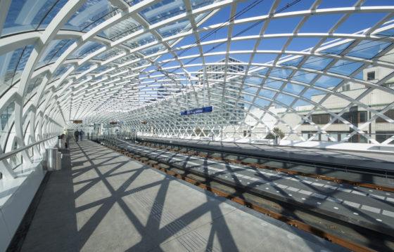 Startstation E-Lijn Den Haag door ZJA bekroond met European Steel Design Merit Award 2019