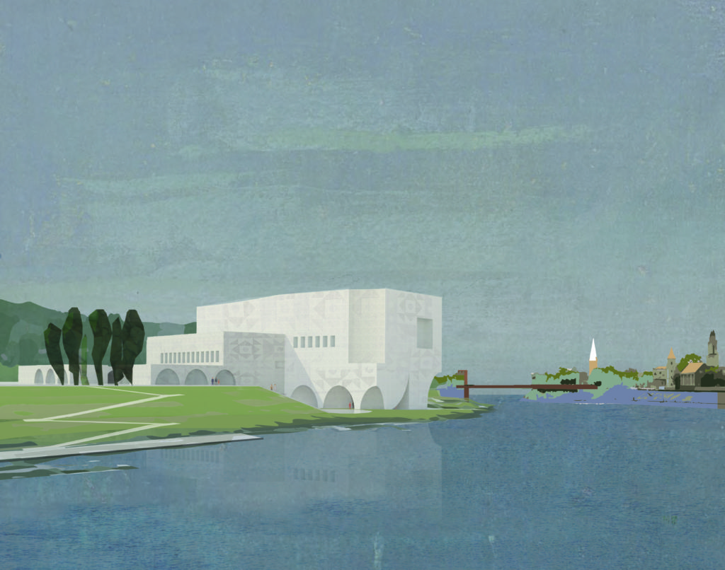 Finalist Concerthal Kausas Adam Khan Architects