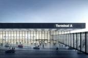 Video: ontwerp Amsterdam Airport Schiphol Terminal Consortium KL AIR