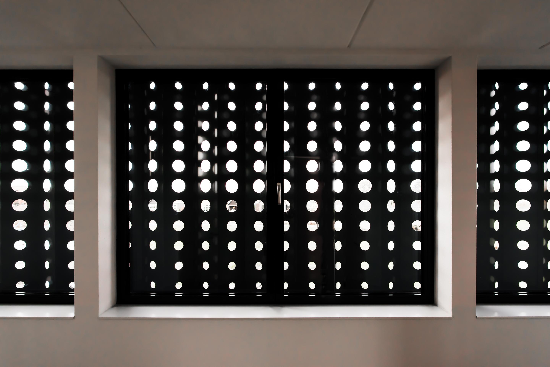 <p>Gevelscherm biedt uitzicht, maar ook privacy</p>