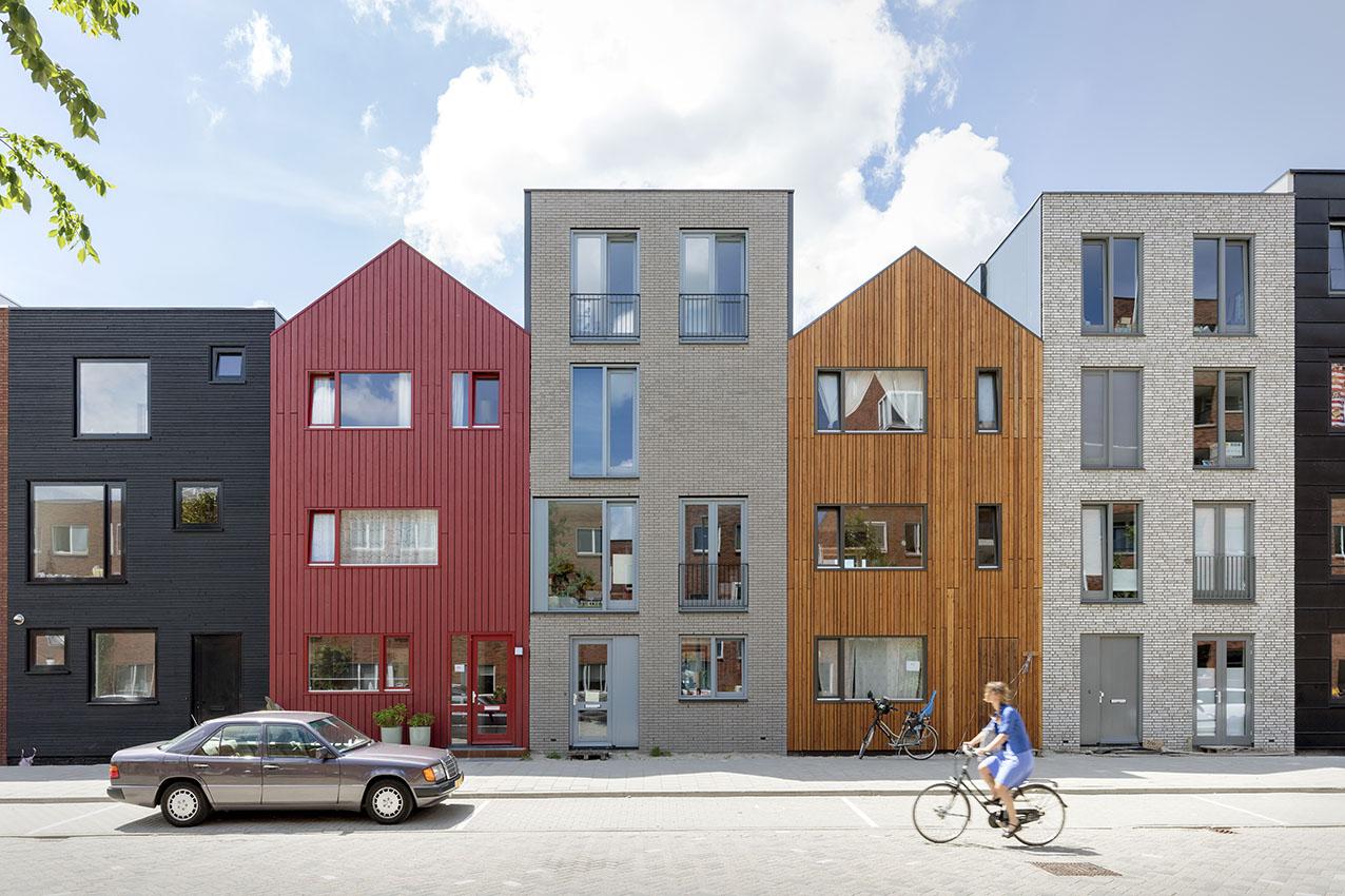 <p>Kavel 19 en 17 – straatbeeld  foto: Marcel van der Burg</p>