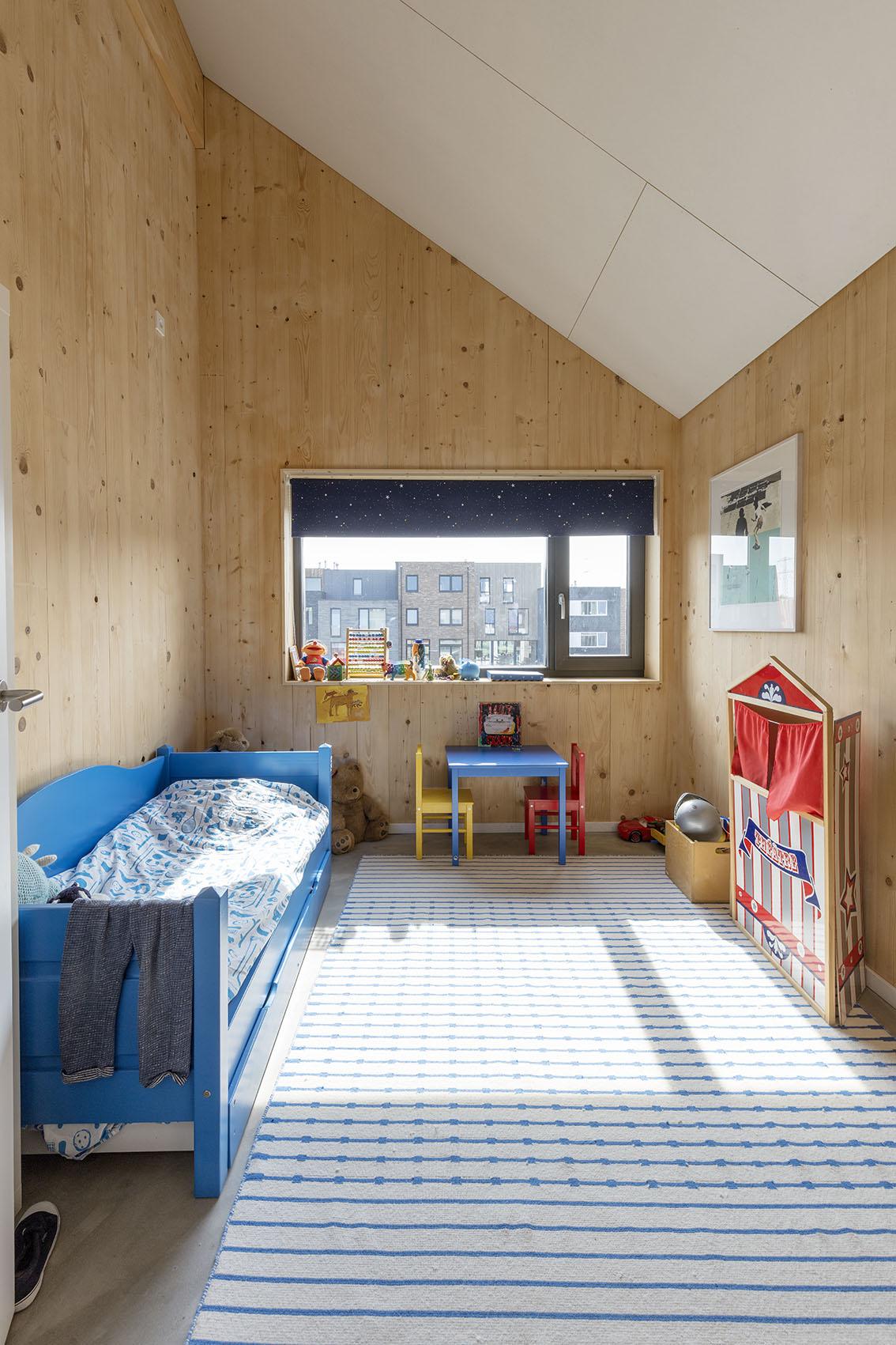 <p>Kavel 17 &#8211; kinderslaapkamer  foto: Marcel van der Burg</p>