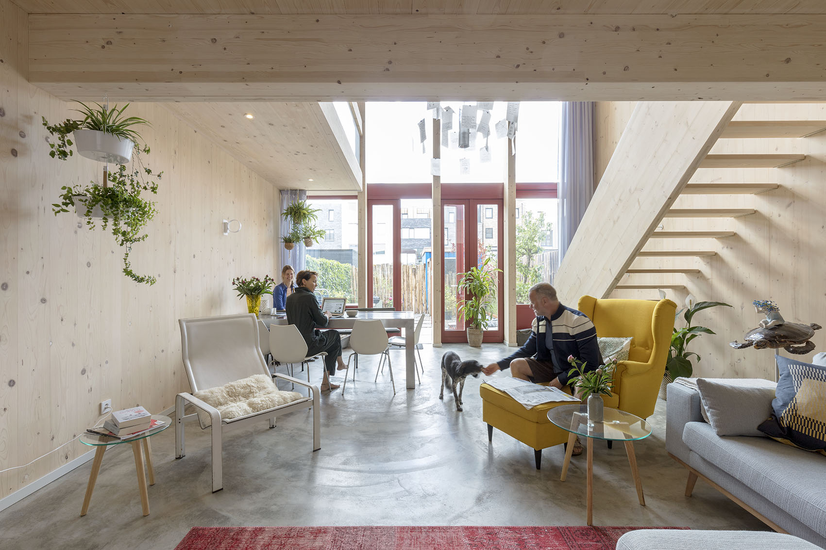 <p>Kavel 19 &#8211; woonkamer   foto: Marcel van der Burg</p>