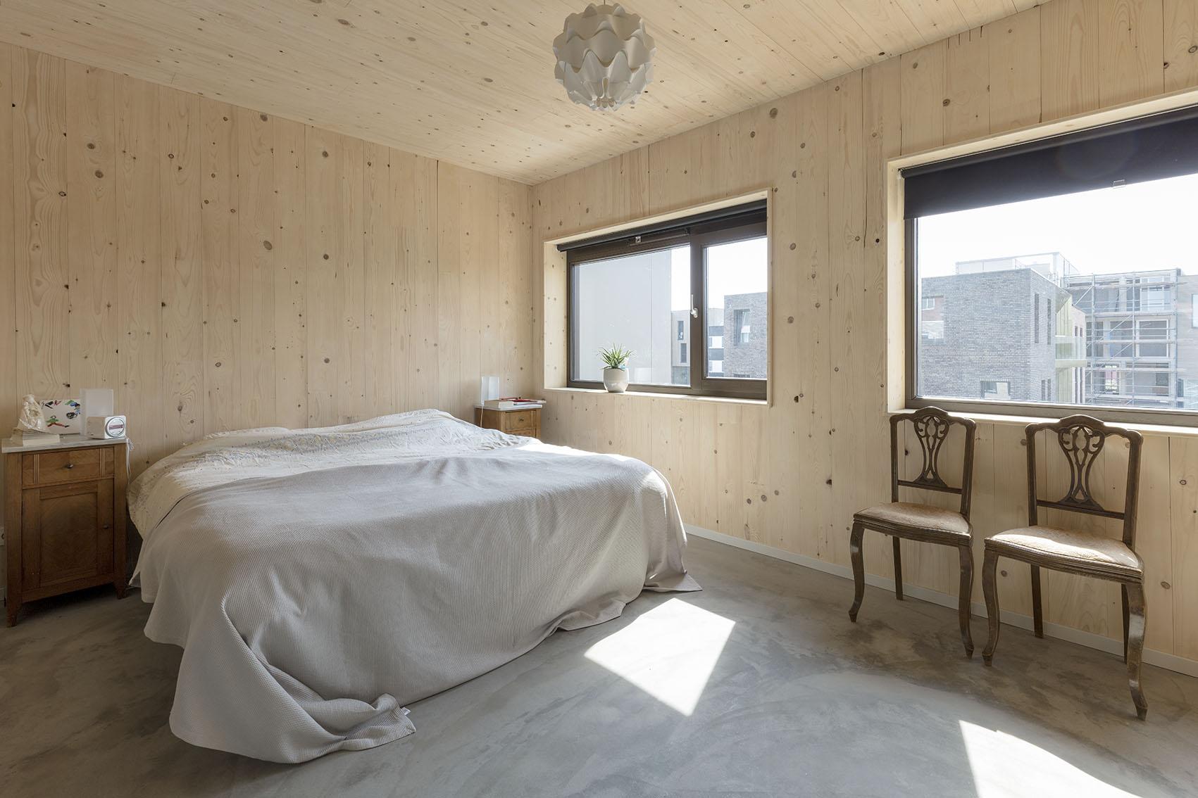 <p>Kavel 8 – slaapkamer foto: Marcel van der Burg</p>
