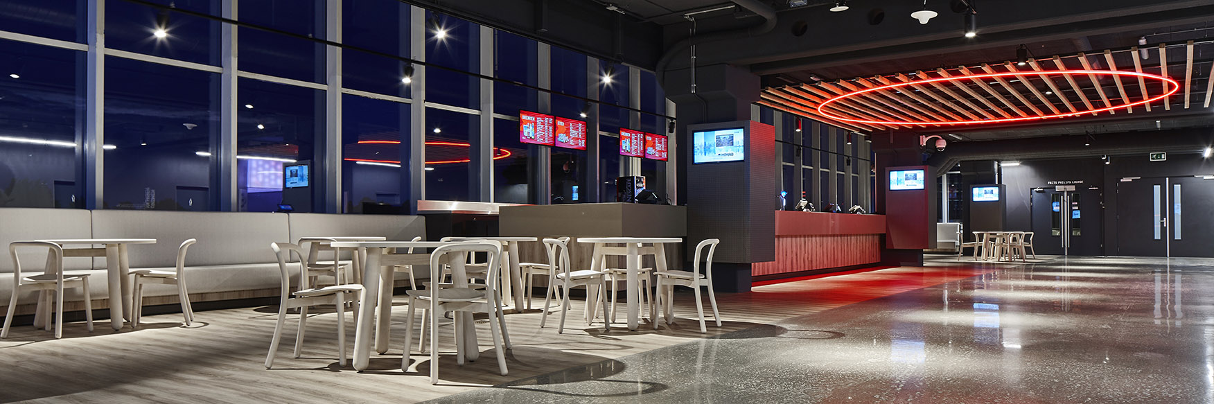 <p>Philips Stadion Promenade – revitalisering – uitgifte eten en drinken + zitjes</p>