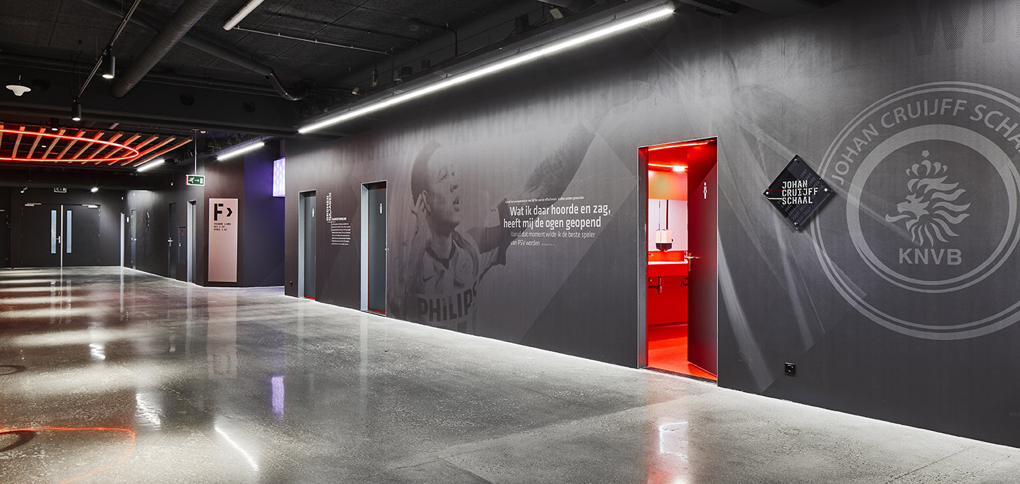 <p>Philips Stadion Promenade – revitalisering – thema plein</p>