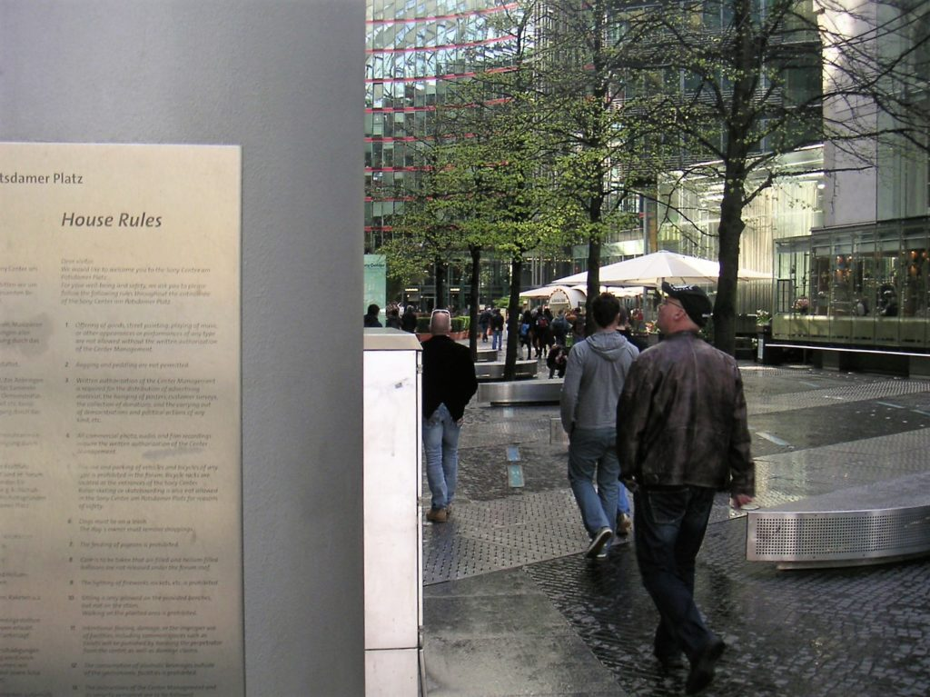 Centrum Berlijn: eigen regels 'Siemens'