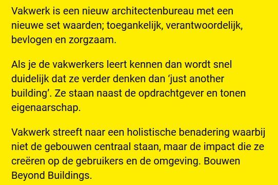 Vakwerkarchitecten