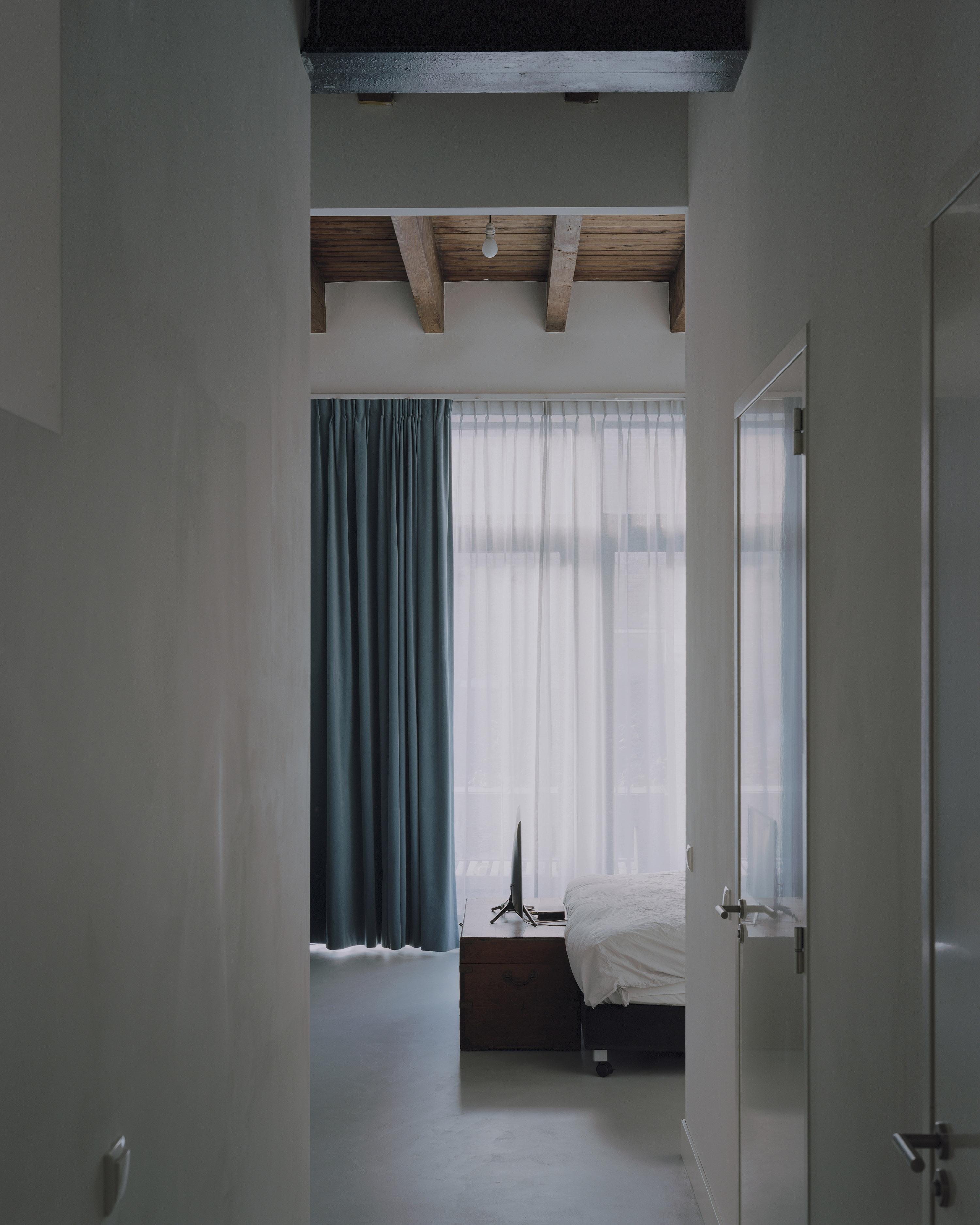 <p>slaapkamer op begane grond, foto: Kim Zwarts</p>