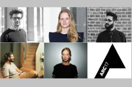 Vijf architecten genomineerd voor ARC17 Jong Talent Award