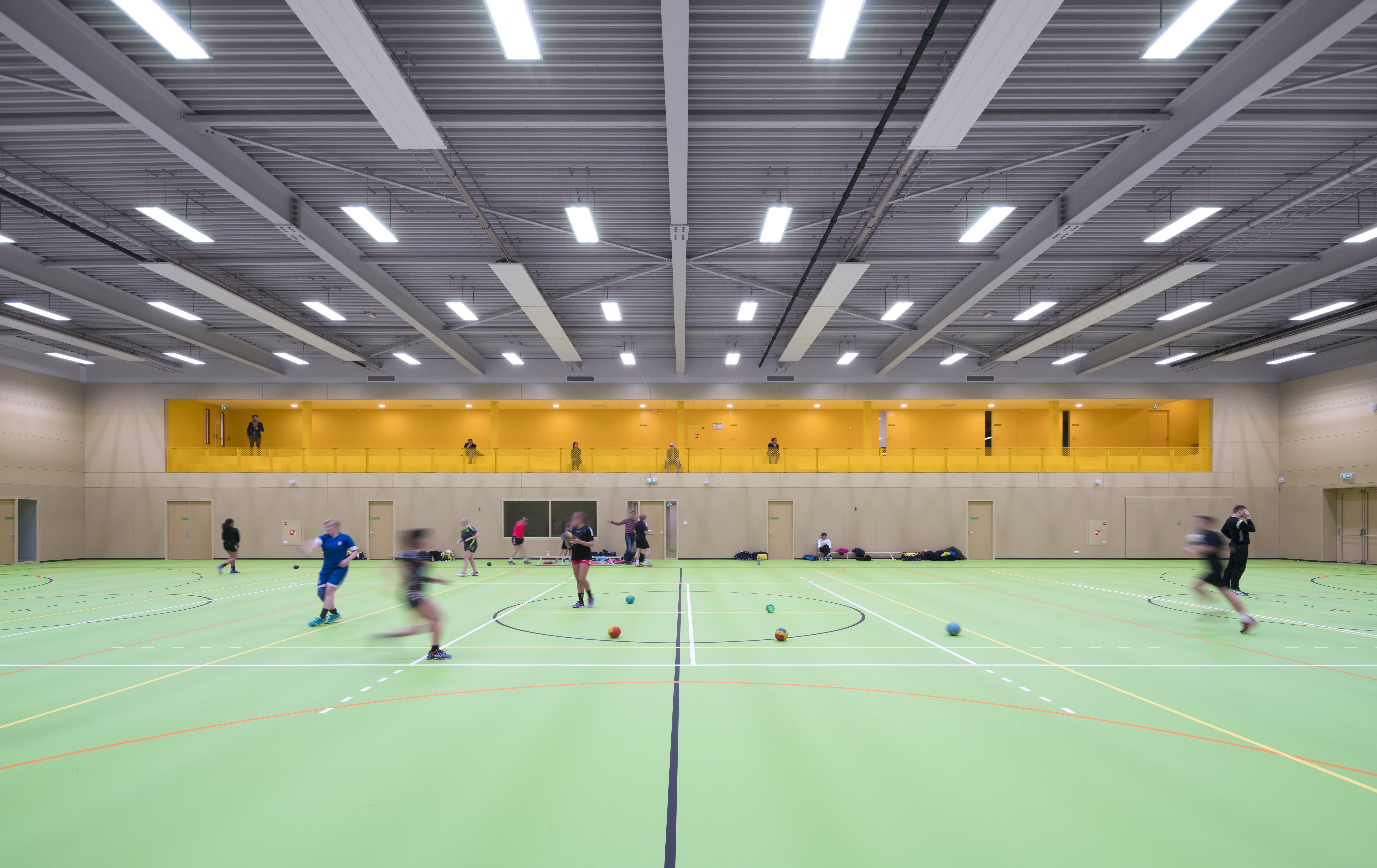 <p>Multifunctioneel sporthal / foto: Ronald Tilleman</p>